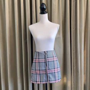 Forever 21 check/ plaid mini skirt